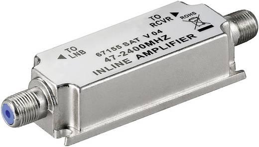 Antennajel erősítő, F csatlakozós 20 dB Goobay SAT-V-04