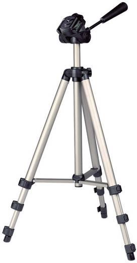 Lézeres távolságmérő, bluetooth funkcióval 70m-ig, teleszkópos állvánnyal Toolcraft LDM-70 BT