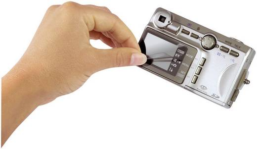 "LCD védőfólia, kijelzővédő fólia 8,9 cm (3,5"") Hama 47007"