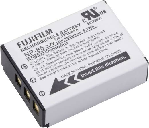 NP-85 Fujifilm kamera akku 3,7V 1700 mAh