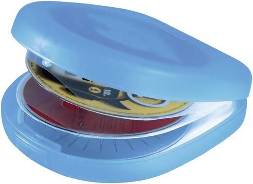 Hama CD Case 24 CD CASE 24, KÉK/ÁTLÁTSZÓ Kék, Átlátszó