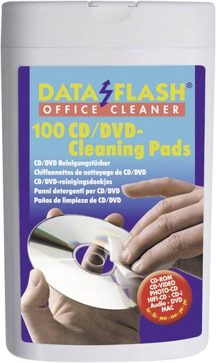CD, DVD lemez tisztító kendő DataFlash 1521
