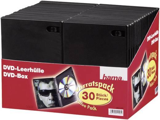 Üres DVD tokok Fekete 1 DVD (Sz x Ma x Mé) 14 x 191 x 134 mm Hama