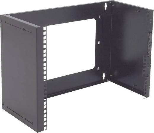 Rack szekrénybe építhető univerzális keret Digitus 19 8 HE Schwarz