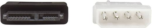 HDD csatlakozókábel, Slimline SATA-ról SATA-ra 0.50 m piros, Manhattan 308137