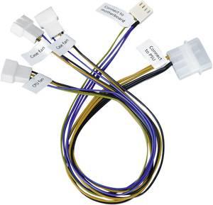Ventilátor adapter kábel 3 ventilátorhoz, Akasa (AK-CB002) Akasa