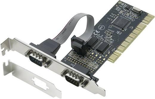 2 port Soros PCI kártya Low Profile