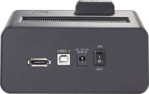 USB 2.0 eSATA merevlemez dokkoló állomás, Renkforce