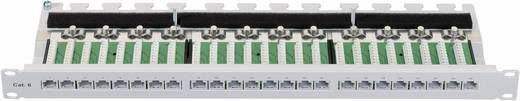 """19"""" Rack szekrénybe építhető 24 portos switch, RJ45 CAT 6 elosztó patchpanel Setec 1 HE 506121"""