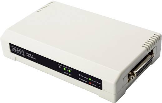 Ethernet kábel elosztó, 3 csatlakkozós nyomtató elosztó Digitus Port