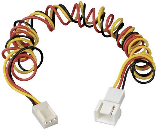 Ventilátor hosszabbító kábel, 3 pólusú, 60 cm, Akasa