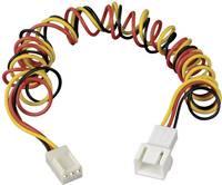 Ventilátor hosszabbító kábel, 3 pólusú, 60 cm, Akasa (AK-H254) Akasa