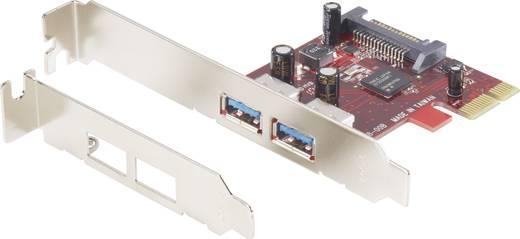 Fejlesztő kártya, PCI Express 2x külső USB 3.0