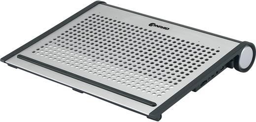 """Notebook hűtő alumínium, 41,7 cm (16,4""""), Conrad"""