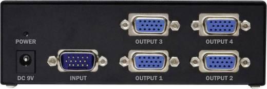 VGA splitter, videó jel osztó 1VGA bemenet - 4 VGA kimenet Digitus DC-42110