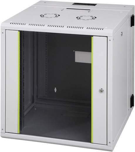 """19""""-os rack szekrény, hálózati szerverszekrény, zárható üvegajtóval 600 x 491 x 610 mm 9 HE 974002"""