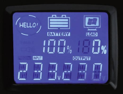 Szünetmentes tápegység LCD kijezővel USB, RJ11, RS 232 csatlakozással Digitus Off-line UPS 650 VA DN-170 023