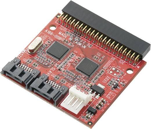 SATA/IDE merevlemez konverter, csatlakozó átalakító 2db SATA-1db IDE