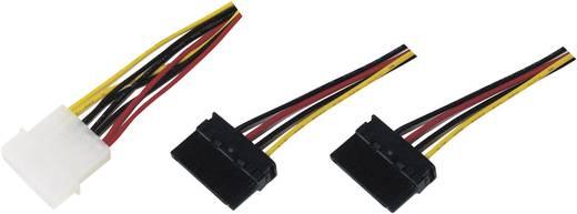 """IDE - 2db SATA """"Y"""" elosztó csatlakozó kábel 0,16m 976298"""