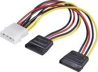 Y átalakító kábel, IDE-ről 2 db SATA-ra, 16 cm, Renkforce (RF-4173159) Renkforce