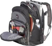 """Notebook hátizsák max. méret: 39,6 cm (15,6"""") fekete/szürke, Wenger Synergy Wenger"""