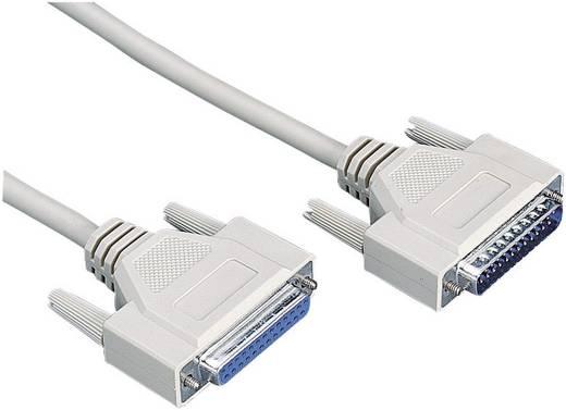 Soros, párhuzamos portos hosszabbítókábel (1x D-SUB 25pólusú dugó - 1x D-SUB 25pólusú aljzat) 10 m szürke 981079
