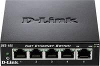 D-Link DES-105 Hálózati switch 5 port 100 Mbit/s (DES-105) D-Link