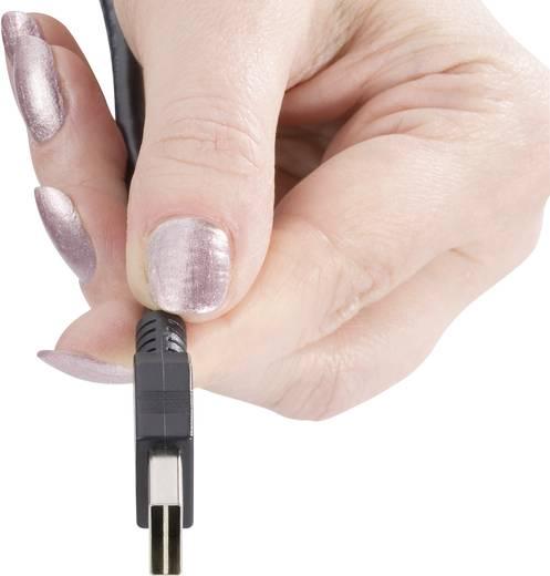 USB 2.0 A/Micro-B csatlakozókábel 1,8 m, megfordítható dugóval