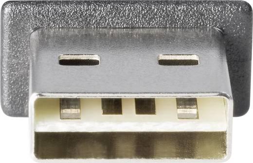 USB 2.0 A/B Renkforce csatlakozókábel 1,8 m, megfordítható dugóval