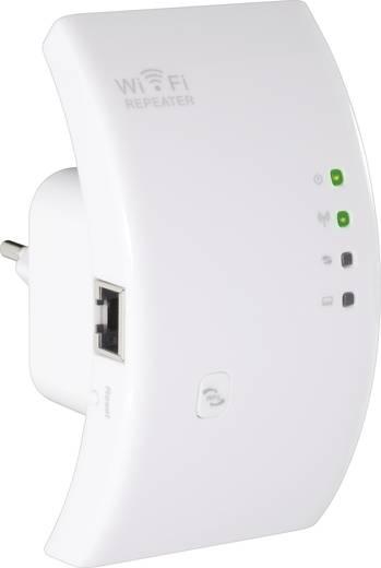 WIFI jelerősítő, jelismétlő, WLAN repeater konnektorba, Conrad N300