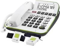 Vezetékes telefon, vészhívóval időseknek doro Secure 350 380041 doro