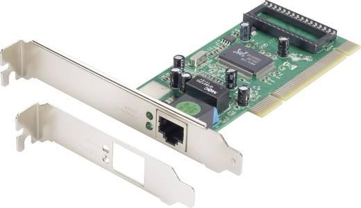 Hálózati kártya 1000 Mbit/s Conrad PCI, LAN (10/100/1000 MBit/s)