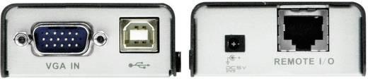 VGA, USB 2.0 KVM extender jelerősítő, jeltovábbító RJ45 csatlakozással 100 m-ig Aten CE100-AT-G
