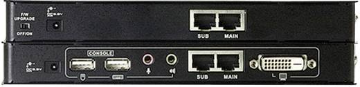 DVI, USB 2.0 KVM extender jelerősítő, jeltovábbító RJ45 csatlakozással 60 m-ig Aten CE600-AT-G