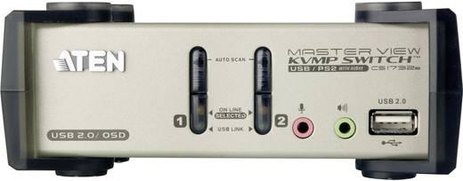 2 portos USB-s KVM switch, (billentyűzet, video, egér) elosztó, PS/2 és VGA elosztó Aten CS1732B-AT-G