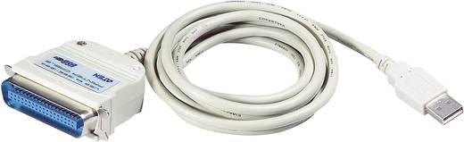 USB 2.0 adapter kábel, 1 x Centronics dugó - 1 x USB 2.0 dugó A, fehér, ATEN