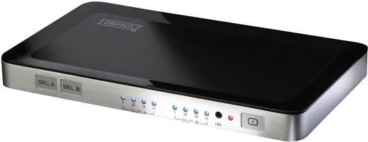 Digitus 4 portos HDMI mátrix Átkapcsoló Bemenetek: 4 Kimenetek száma: 2