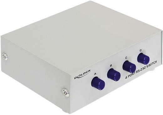 RS 232 soros port átkapcsoló, switch 4bemenet, 1kimenet Delock 87589