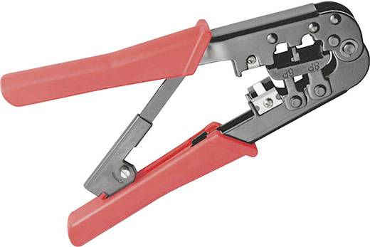 Moduláris krimpelő fogó, UTP és telefon csatlakozó krimpelő RJ11, RJ12, RJ45 Western csatlakozókhoz