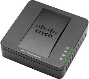Terminál adapter Cisco SB VoIP Sip ATA SPA112/T.38 Fax Mellékágak száma: 2 (SPA112) Cisco