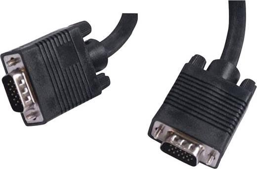 VGA monitor csatlakozókábel, 5 m, fekete, Belkin