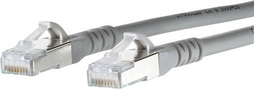 RJ45 Hálózati csatlakozókábel, CAT 6A S/FTP [1x RJ45 dugó - 1x RJ45 dugó] 5 m, szürke BTR Netcom