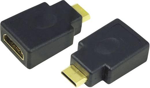 HDMI/mini HDMI átalakító adapter, LogiLink AH0009