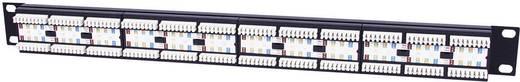 Rack szekrénybe építhető 24 portos RJ45 elosztó, CAT5e UTP patch panel, Intellinet 513555 1 HE