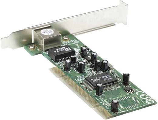 Hálózati kártya 1000 Mbit/s PCI, LAN (10/100/1000 MBit/s) Intellinet 522328