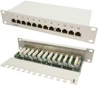 12 portos CAT6 patch panel, 25,4 cm, LogiLink NP0041 (NP0041) LogiLink