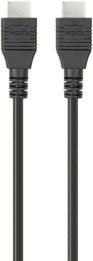 HDMI csatlakozókábel [1x HDMI dugó 1x HDMI dugó] 1 m fekete Belkin F3Y020bf1M