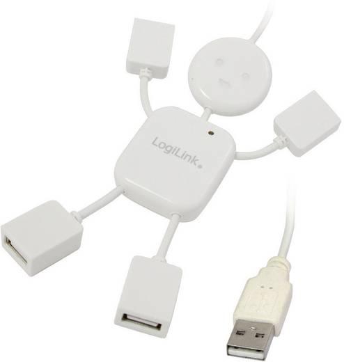 4 portos USB 2.0 Hub, Hangman (emberke), LogiLink UA0071