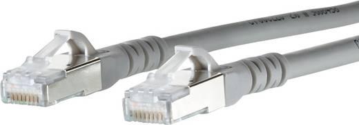 RJ45 Hálózati csatlakozókábel, CAT 6A S/FTP [1x RJ45 dugó - 1x RJ45 dugó] 2 m, szürke BTR Netcom