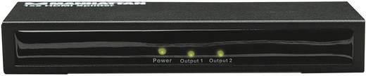 2 portos HDMI splitter Manhattan fekete